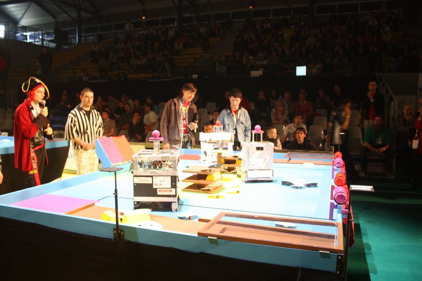 Les r sultats de la coupe de france de robotique - Coupe de france robotique ...