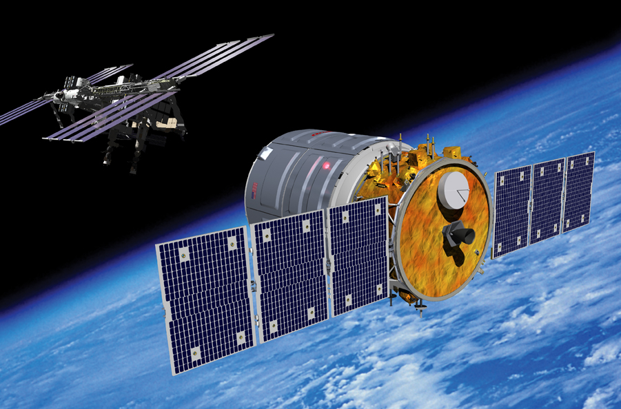 Cygnus Orbital Sciences ISS amarrage