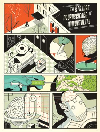 ken hayworth veut immortaliser son cerveau pour qu'il soit dupliqué et placé dans un robot