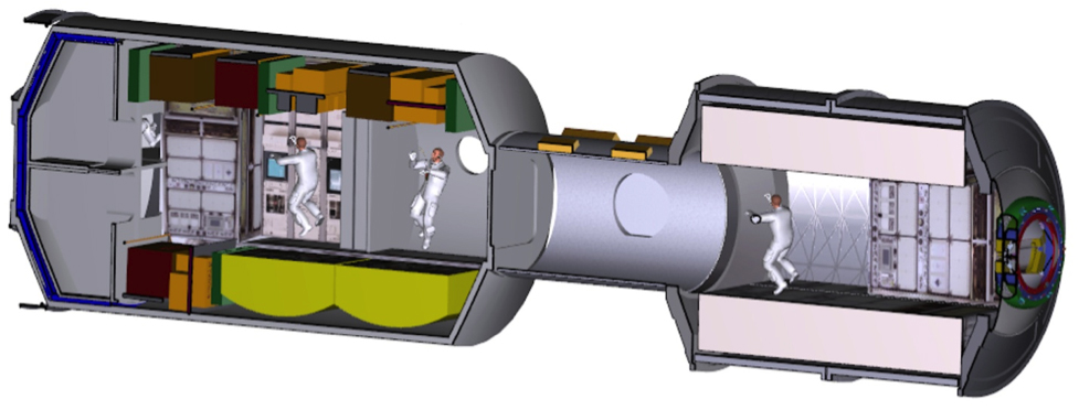 Un vaisseau d'exploration sptaiale imaginé par la NASA
