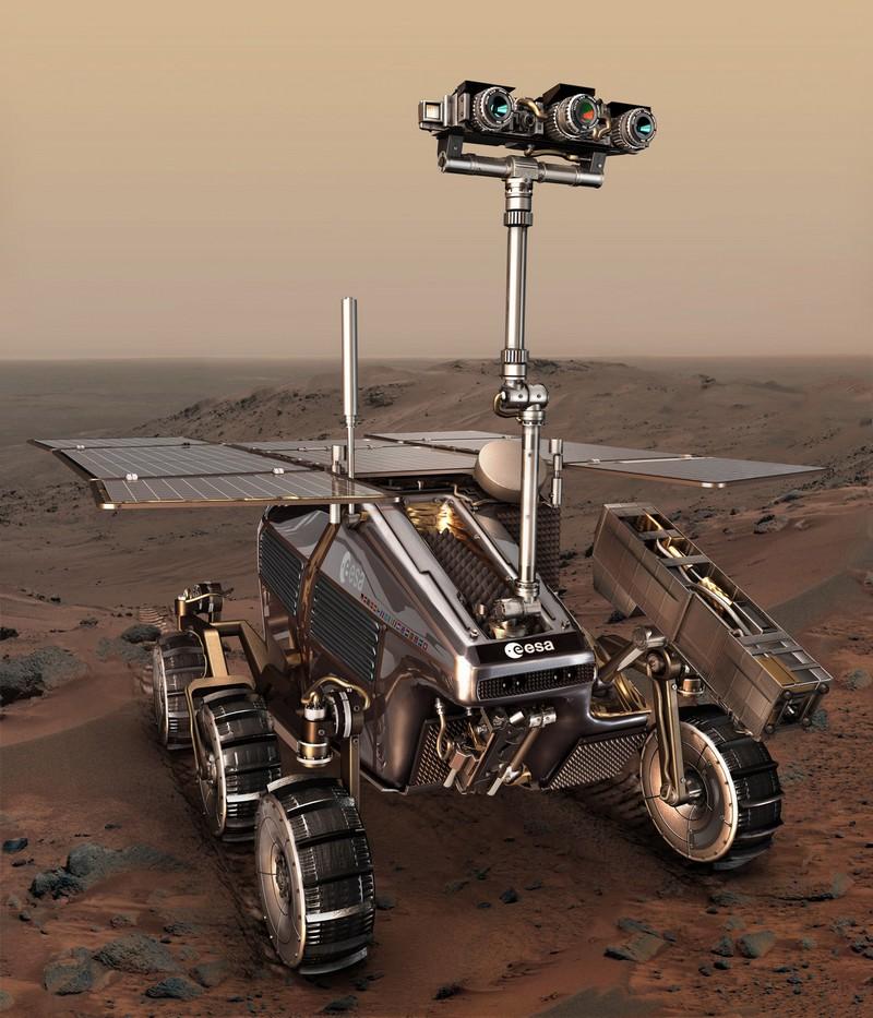 Le rover ExoMars de l'ESA pourra forer le sol martien et renvoyer des échantillons à destination de la Terre