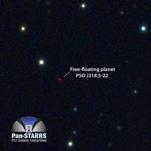planète solitaire errante