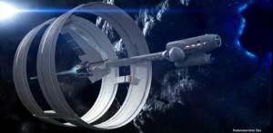 nasa voyage hyperespace vaisseau entier